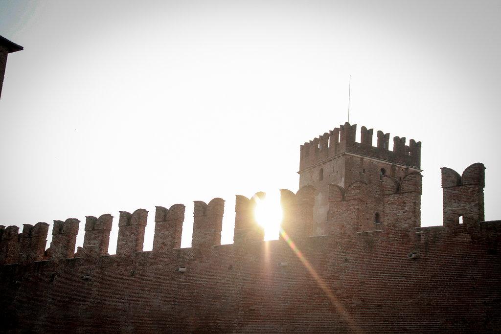 Stadtmauer in Verona