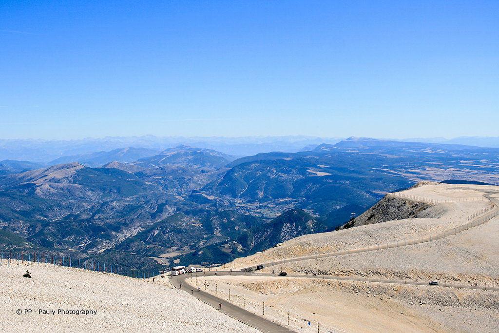Ausblick vom Mont Ventoux