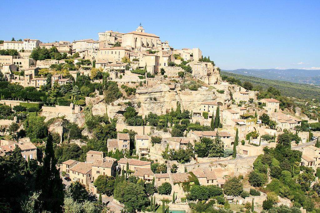 Les plus belles de la France - Die Stadt Gordes